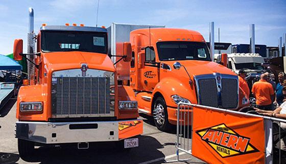 Inaugural Las Vegas Semi Truck Show
