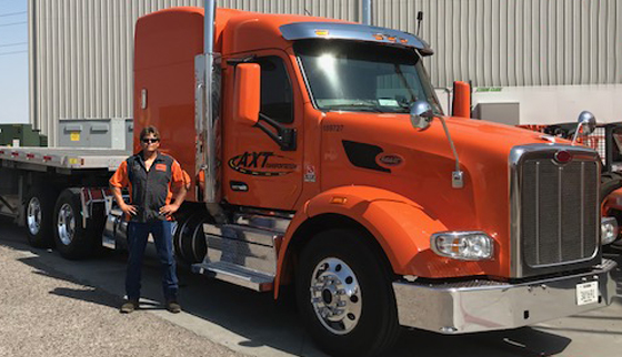 ax transportation driver profile